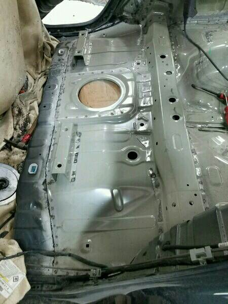 KIA Soul Rear Body and Floor Pan Replacement & Collision