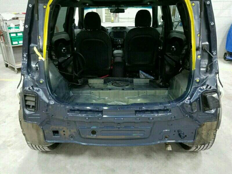 Kia Soul Rear Body And Floor Pan Replacement Amp Collision